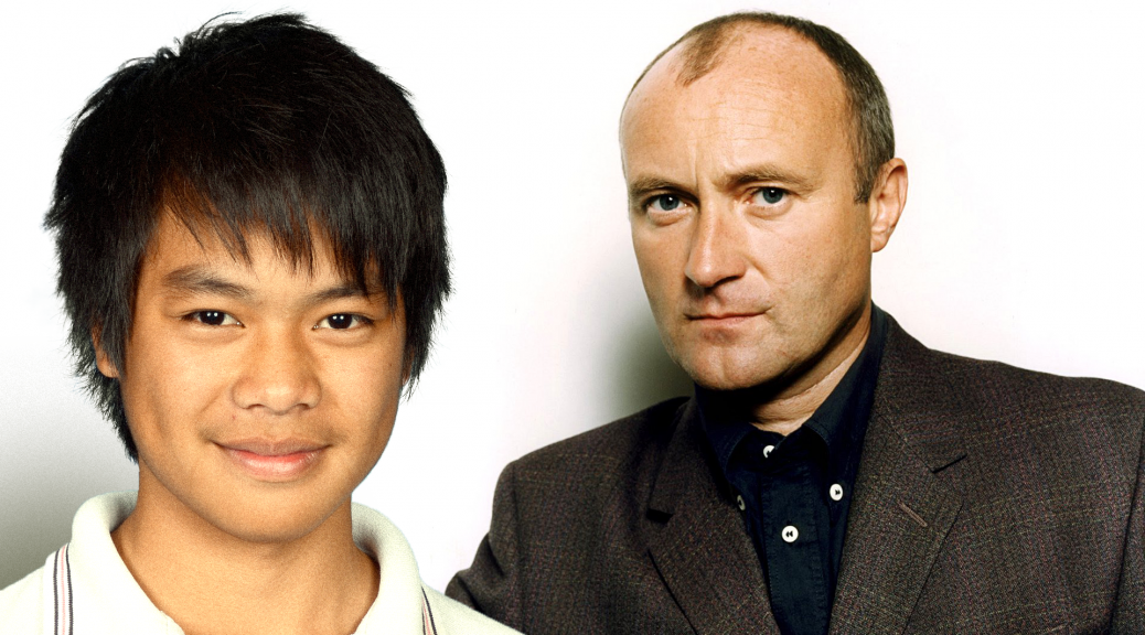Cheng Puck meets Phil collins